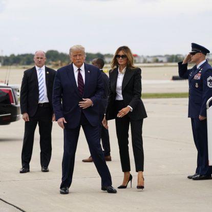 Trump er på plass i Cleveland
