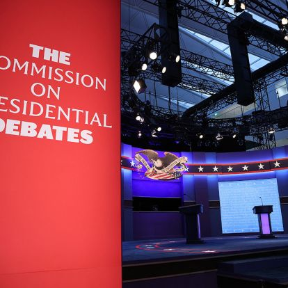 The first 2020 presidential debate, in photos