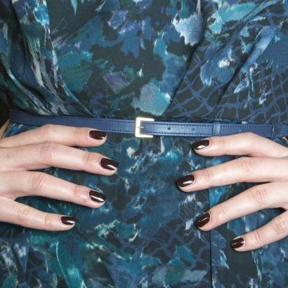 Chocolate Brown Nail Polish Is Turning Out To Be This Season's It-Shade