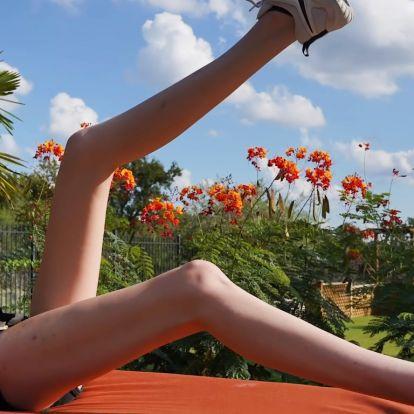 Szereted a hosszú lábú nőket? Akkor őt fogod legjobban szeretni a világon