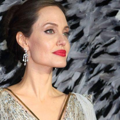 Angeline Jolie TOP3 textil ledobós címlapja