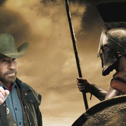 Chuck Norris megküzdött tízezer spártai harcossal, és papírforma született