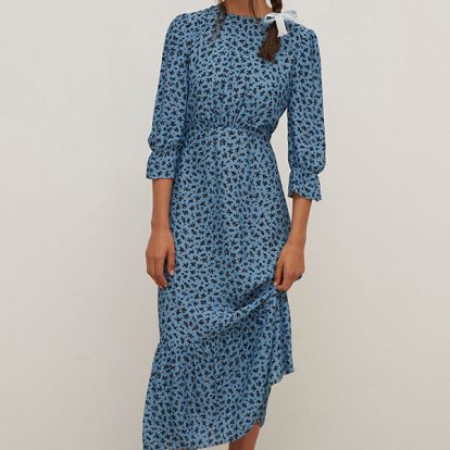 Holly Willoughby's on-trend blue midi dress is under £40