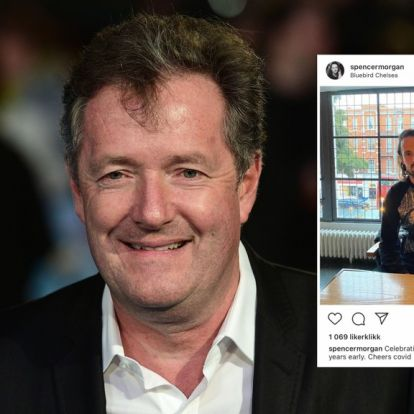 Piers Morgan henger jevnlig ut kjendiser. Nå er det sønnens tur:– Ta deg sammen
