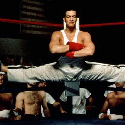 Összeszorított farpofái repítették a csúcsra a ma 60 éves Jean-Claude Van Damme-ot