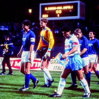 Maradona Budapesten: amikor leszállt közénk az isteni Diego