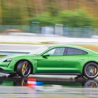 Gyors, gyorsabb, Taycan – Porsche Taycan menetpróba