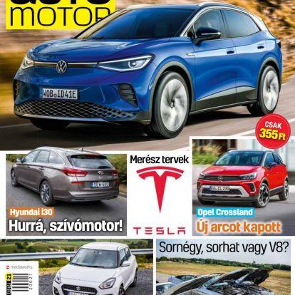 Már kapható az Autó-Motor 2020/21-es száma