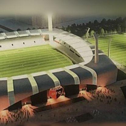 Új stadiont kap Pécs