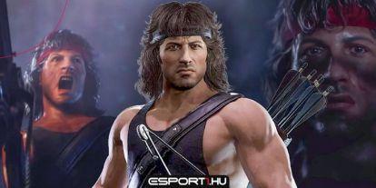 Így vadássza le Sly, alias Rambo az ellenfeleit az MK11-ben