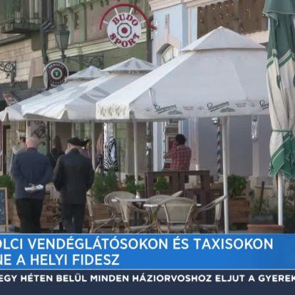 A miskolci vendéglátósokon és taxisokon segítene a helyi Fidesz