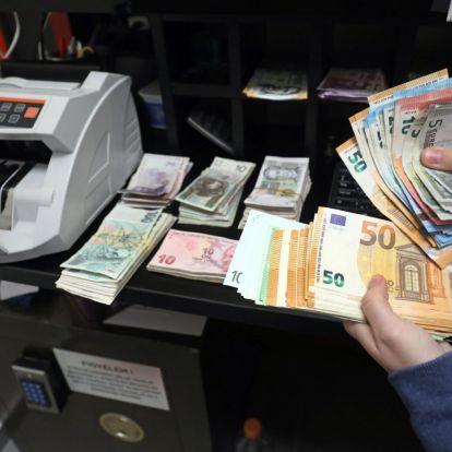 Összeomlik a líra, nő a kockázat Közép-Európában