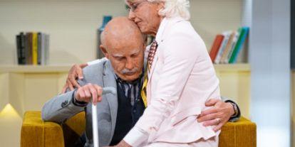 Schobert Lara elsírta magát, amikor meglátta a szüleit 90 évesen