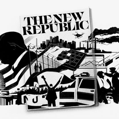 """Pentagram redesigns The New Republic to match its """"forward-thinking content"""""""