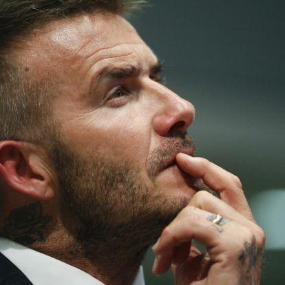 Komoly üzleten töri a fejét Beckham