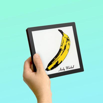 "This portable music player aims to lead a ""digital album artwork revolution"""