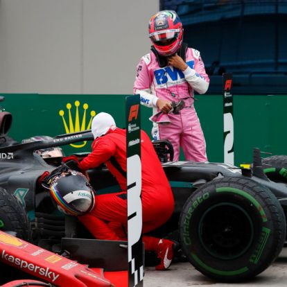 Vettel példaértékű gesztus tett a hetedik világbajnoki címét nyerő Hamilton felé