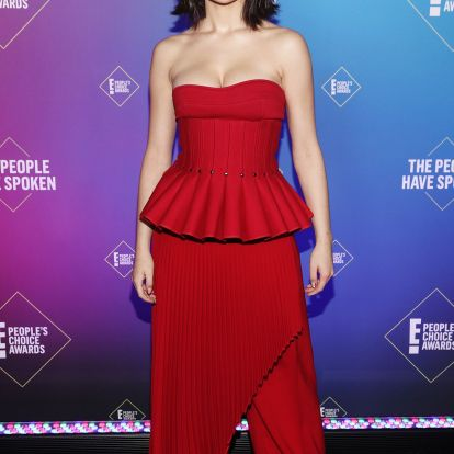 Every breathtaking look from the 2020 Peoples Choice Awards 2019