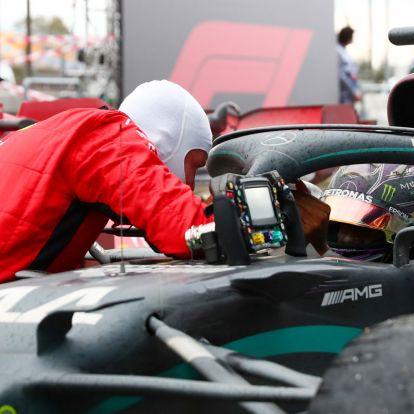 F1: Így gratulált Vettel Hamilton hét bajnoki címéhez