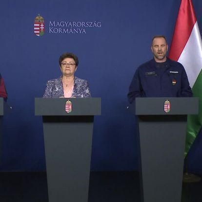 Az operatív törzs sajtótájékoztatója - ÉLŐBEN a Hír TV műsorán