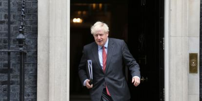 Ismét karanténban a brit miniszterelnök