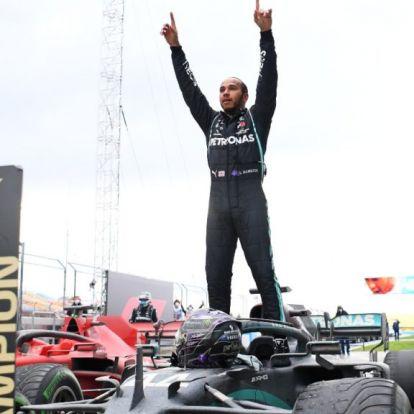 """""""Lewis Hamilton a hetedik mennyországba került"""""""