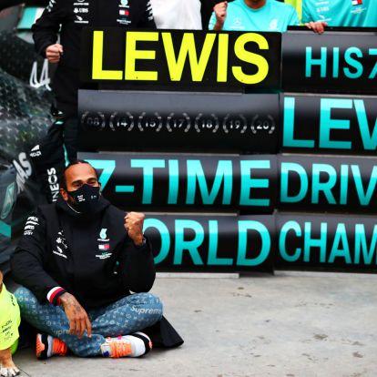 F1: A bajnokok is leborultak Hamilton előtt