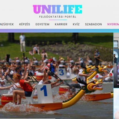 Tudj meg többet! Elstartolt az UniLife Felsőoktatási Portál
