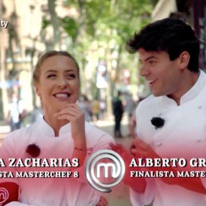 ¡Juntos pero no revueltos! Luna y Alberto vuelven a las cocinas de 'MasterChef'