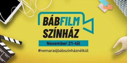 November 21-étől indul a Budapest Bábszínház online BábFilmSzínház sorozata!