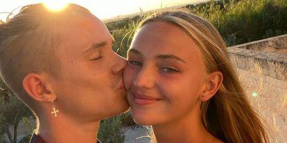 Mia Regan cumple 18 años y Romeo Beckham la felicita con un vídeo casero que te va a encantar