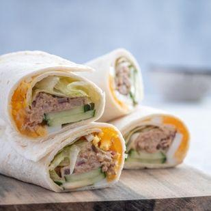 Tonhallal töltött wrap – Egyszerű, diétás és fél óra alatt kész! Kell ennél több?