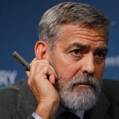 A kormány szerint Soros áll George Clooney orbánozása mögött