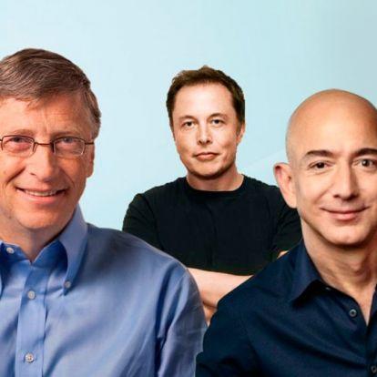 Bill Gates már csak a harmadik leggazdagabb