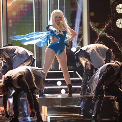 Beatriz Luengo conquista al público de Estados Unidos imitando a Lady Gaga