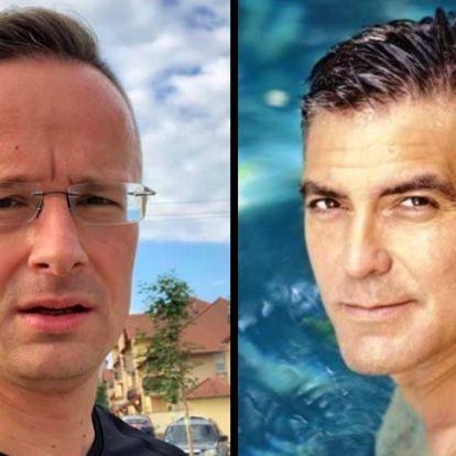 Szijjártó Péter pikírt, becsmérlő kijelentéseket tett George Clooney-ra (+videó)