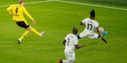Haaland tok ny rekord da han scoret to nye mål i Champions League