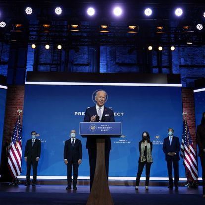Biden keeps the peace with first Cabinet picks