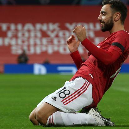 Nagy gólt rúgott a Man. United portugálja a BL-ben