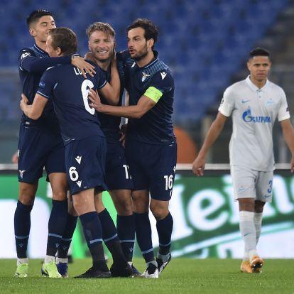 Rómában rúgták a forduló gólját a Bajnokok Ligájában
