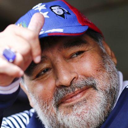 Elhunyt DiegoMaradona