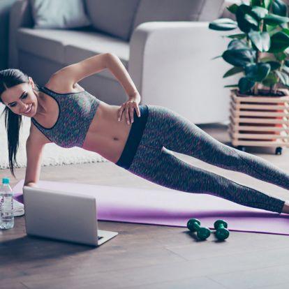 Tónusos, karcsú test, kis helyen is végezhető gyakorlatokkal: személyi edző tippjei az otthoni tornához