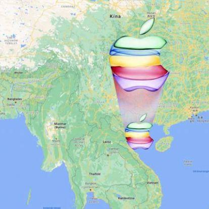 Kiviszi kínából az Apple-gyártás egy részét a Foxconn