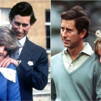 Internett går amok: - Kan du se hva som feiler alle bildene til Charles og Diana?