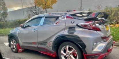 Matchboxot csinált Toyota C-HR-éből egy brit autós