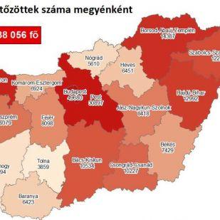Újra hatezer fölött a fertőzöttek száma hazánkban