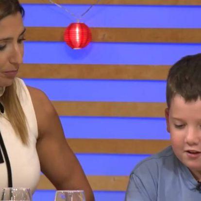 Az első tévés szereplés: Rubint Réka fia is feltűnt A Konyhafőnök VIP-ben