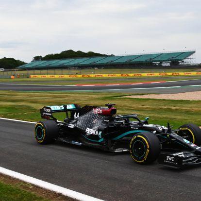 F1: Hamilton-egyenes lett a silverstone-i célegyenesből