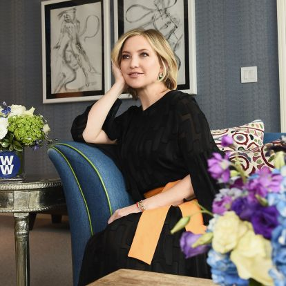 7 Floral Wallpaper Prints Like Kate Hudson's That Will Help You Achieve Her Grandmillennial-Chic Style