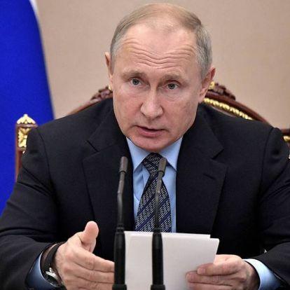 Putyin: csökkent az orosz GDP, de az államadósság is